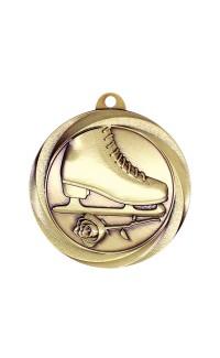 """Figure Skating Medal Vortex 2"""" Gold"""