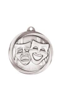 "Drama Medal Vortex 2"" Silver"