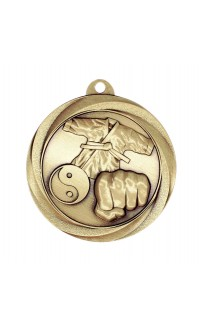 "Medal Vortex 2"" Martial Arts Gold"