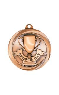 """Sports Day Medal Vortex 2"""" Bronze"""