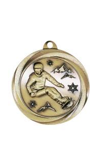 "Snowboarding Medal Vortex 2"" Gold"