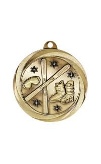 "Skiing Medal Vortex 2"" Gold"