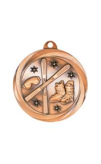 "Skiing Medal Vortex 2"" Bronze"