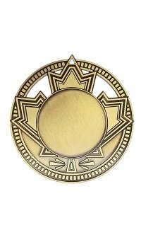 """Medal 1.5"""" Insert Patriot, Gold"""