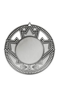 """Medal 1.5"""" Insert Patriot, Silver"""