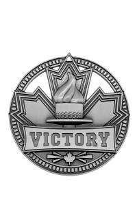 "Medal Sport 2.75""  Patriot Victory Silver"