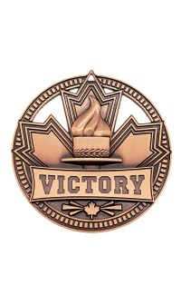 "Medal Sport 2.75""  Patriot Victory Bronze"
