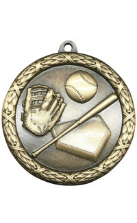 "Medal Classic 2.5"" Baseball Gold"