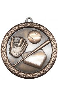 "Medal Classic 2.5"" Baseball Bronze"
