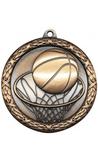 "Medal Classic 2.5"" Basketball Bronze"