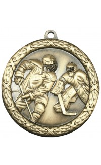 "Medal Classic 2.5"" Hockey Gold"