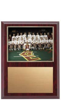 "Gold Border Photo Plaque, 9""x12"""