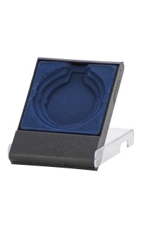 Presentation Medal Case, Black/Blue