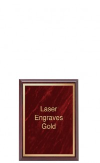 """Marble Mist Series Plaque with Plate, 6"""" x 8"""""""