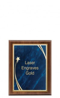 """Shooting Star Series Plaque and Plate, 7""""x9"""""""