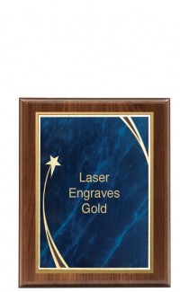 """Shooting Star Series Plaque and Plate, 9""""x12"""""""