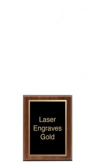 """Simplicity Series Plaque with Plate, 5"""" x 7"""""""