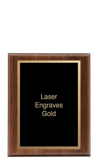 """Simplicity Series Plaque with Plate, 9"""" x 12"""""""