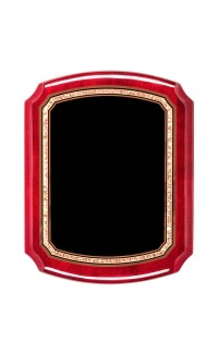"""Airflyte Series Plaques, Rosewood 8""""x10.5"""""""