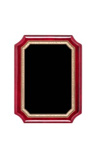 """Airflyte Series Plaques, Notched Rosewood 9""""x12"""""""