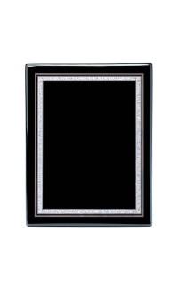 "Airflyte Series Plaques, Black Piano 8""x10"""