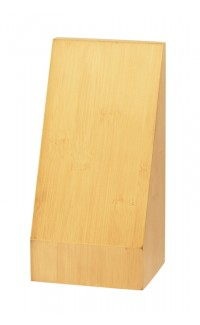 """Bamboo Monument Wedge, 7"""" x 3.5"""" x 3"""""""