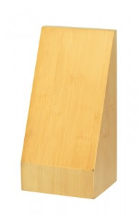 """Bamboo Monument Wedge, 8"""" x 4"""" x 3.25"""""""