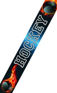 Hockey Inferno Neck Ribbon