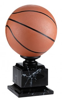 """Resin Basketball Full Colour with Base, 15.25"""""""