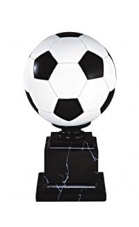 "Resin Soccer Full Colour with Base, 14.75"""
