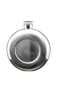 5 oz Flask, SS Round w/Insert