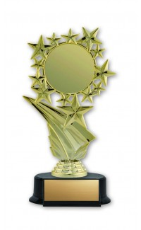 "Economy Insert Award Stars 2"" Holder with Base, 7"""