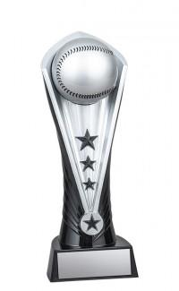 "Cobra Baseball Tower, Black/Silver 9"""