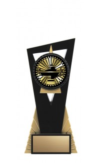 "Solar Series Stand, Black/Gold, 7"" with Academic Insert"