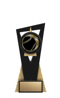 """Solar Series Stand, Black/Gold, 7"""" with Baseball Insert"""