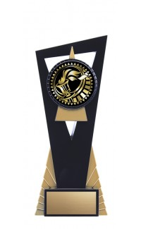 """Solar Series Stand, Black/Gold, 8"""" with Victory Insert"""