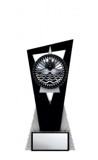 """Solar Series Stand, Black/Silver, 7"""" with Swimming Insert"""