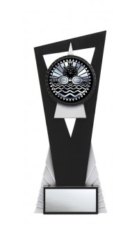 """Solar Series Stand, Black/Silver, 8"""" with Swimming Insert"""