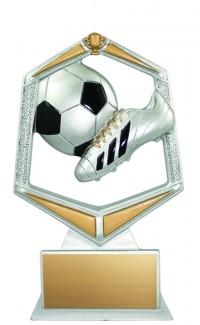 Soccer Spirit Resin, Sm.