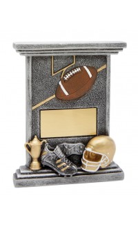 Resin Easel Football, Small 5""