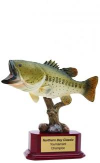 Bass Fish Resin