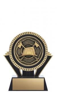 "Apex Firefighter, 5"" Black/Gold"