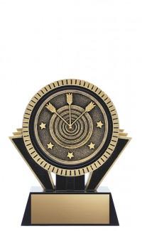 "Apex Archery, 5"" Black/Gold"