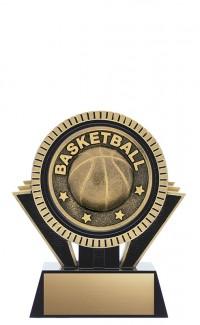 "Apex Basketball, 5"" Black/Gold"