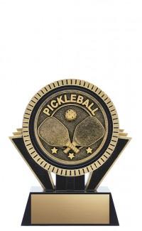 "Apex Pickleball, 5"" Black/Gold"
