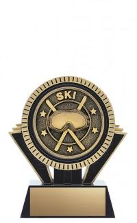 """Apex Ski, 5"""" Black/Gold"""