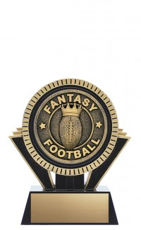 "Apex Fantasy Football, 5"" Black/Gold"