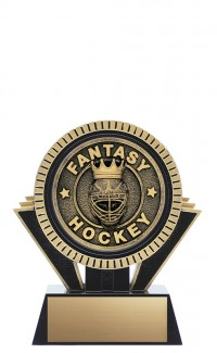 "Apex Fantasy Hockey, 5"" Black/Gold"
