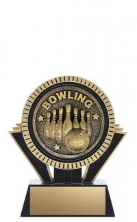 "Apex 10-Pin Bowling, 5"" Black/Gold"
