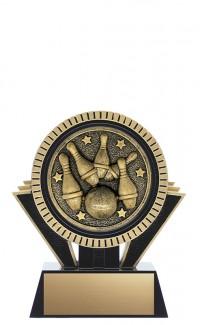 "Apex 5-Pin Bowling, 5"" Black/Gold"